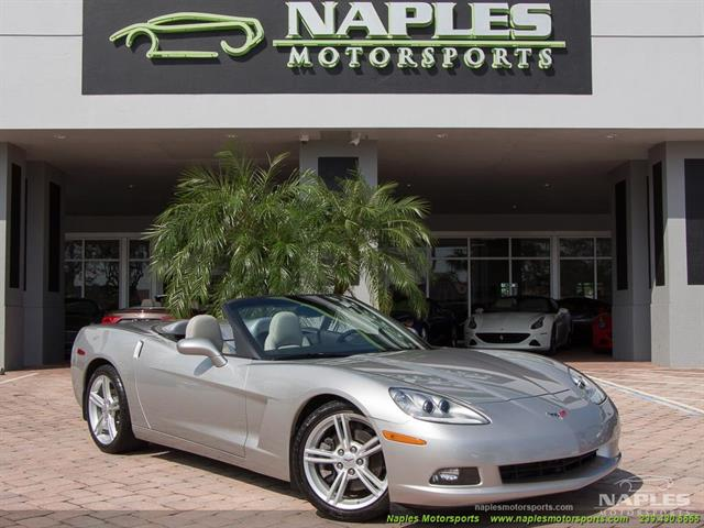 2008 Chevrolet Corvette Convertible - Photo 1 - Naples, FL 34104