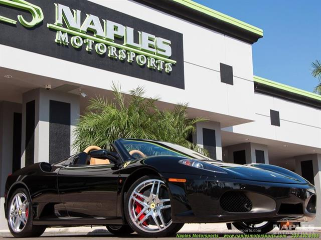 2007 ferrari f430 spider for Motor vehicle naples fl