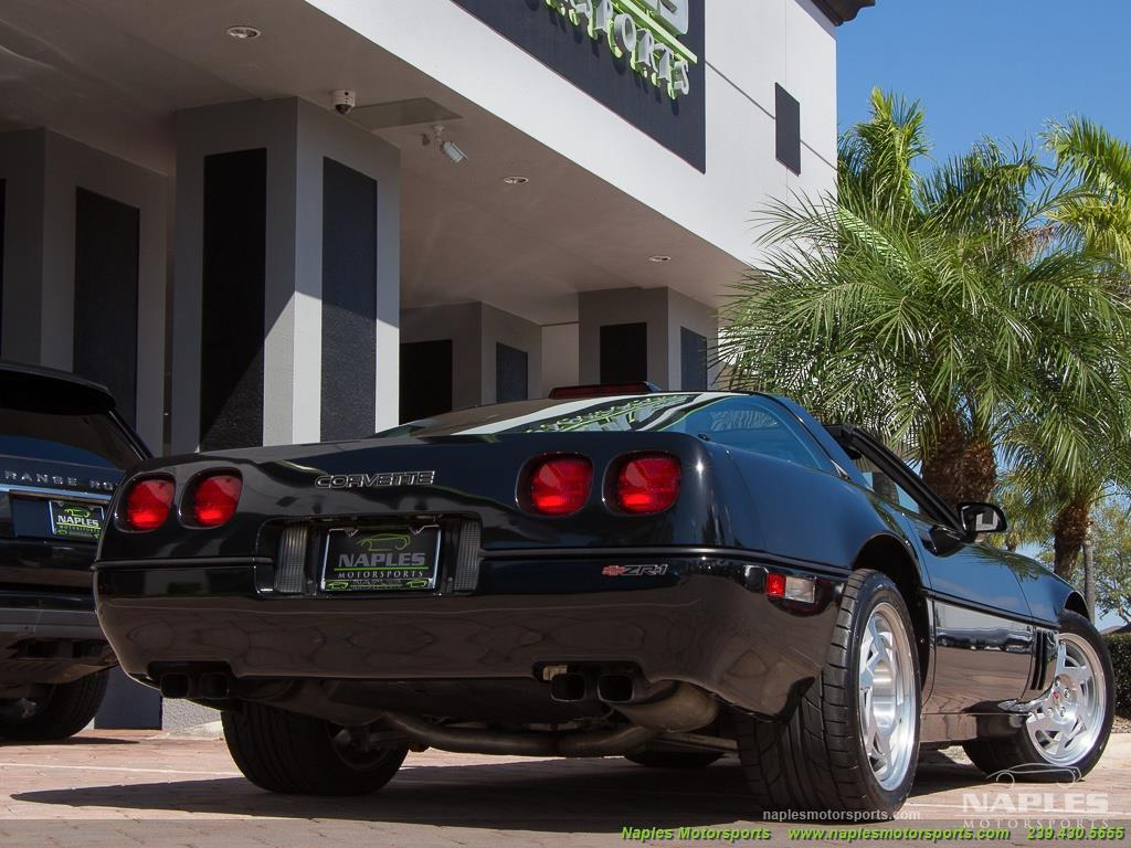 1990 Chevrolet Corvette ZR1 - Photo 54 - Naples, FL 34104