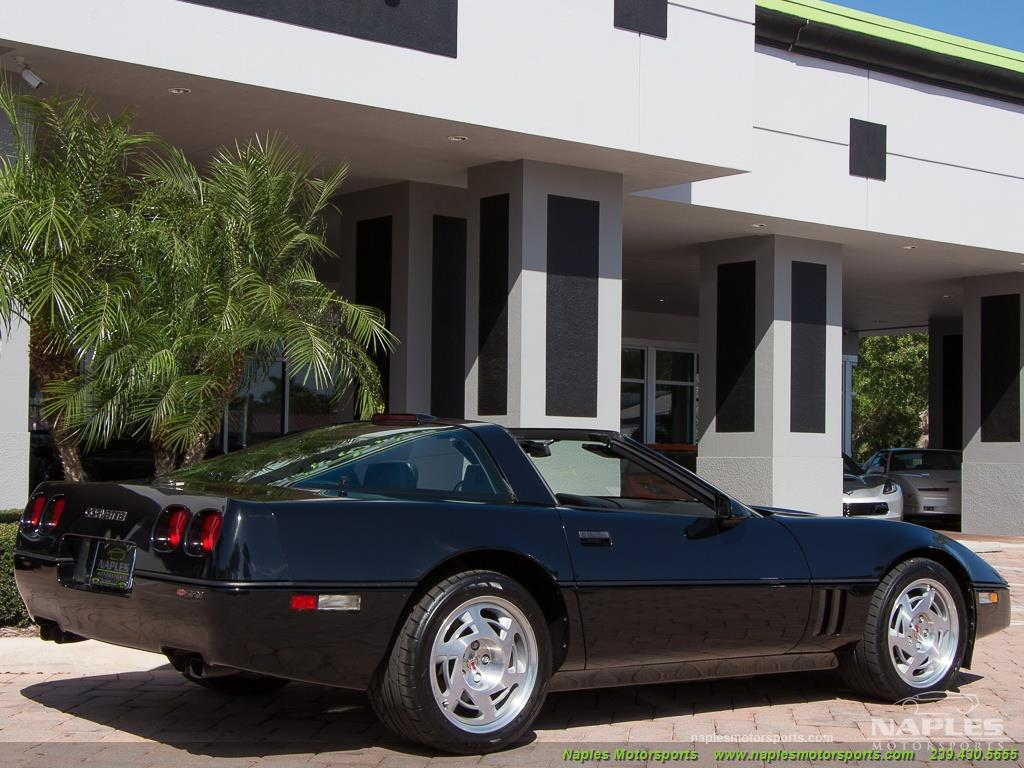 1990 Chevrolet Corvette ZR1 - Photo 17 - Naples, FL 34104