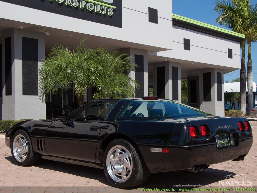 1990 Chevrolet Corvette ZR1 - Photo 39 - Naples, FL 34104