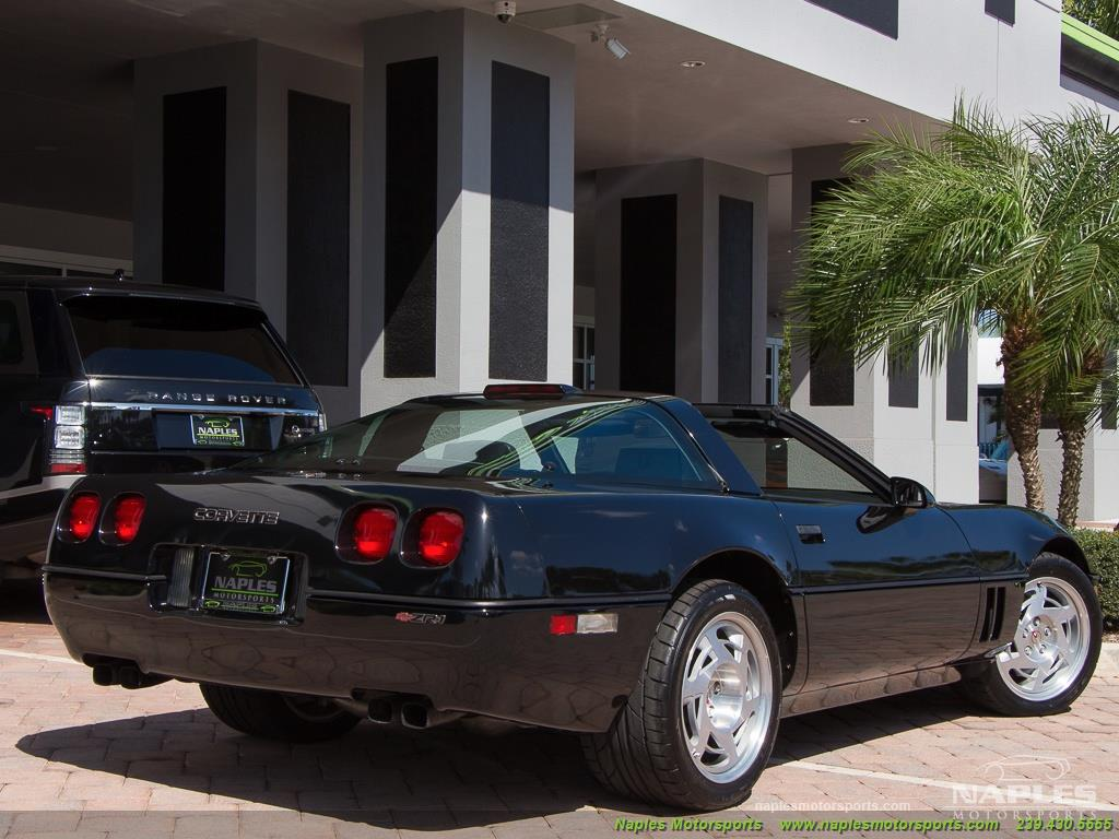 1990 Chevrolet Corvette ZR1 - Photo 53 - Naples, FL 34104