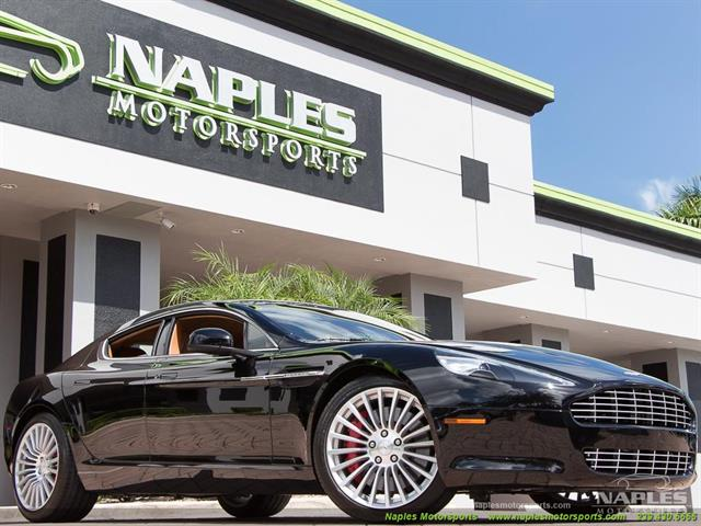2011 aston martin rapide for Motor vehicle naples fl
