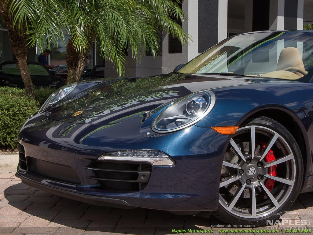 2013 Porsche 911 Carrera 4S Cabriolet - Photo 16 - Naples, FL 34104