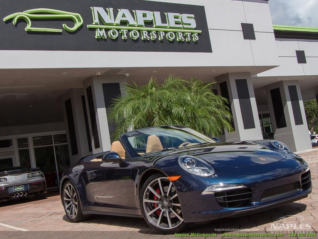 2013 Porsche 911 Carrera 4S Cabriolet - Photo 26 - Naples, FL 34104