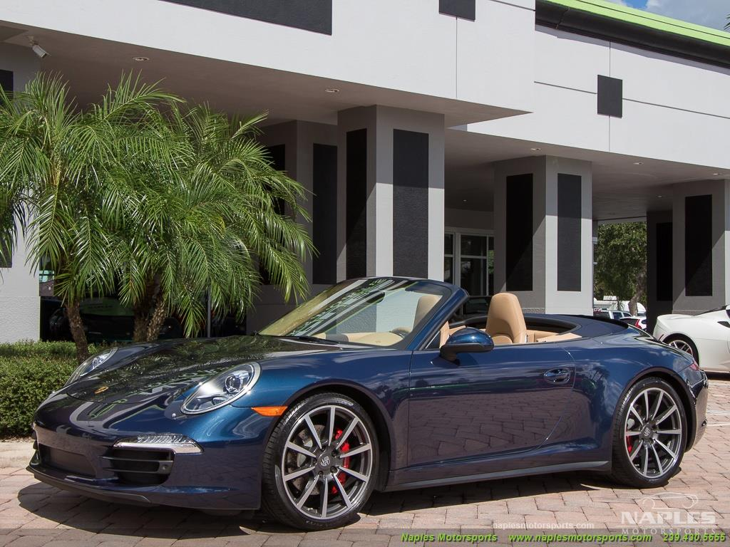 2013 Porsche 911 Carrera 4S Cabriolet - Photo 7 - Naples, FL 34104