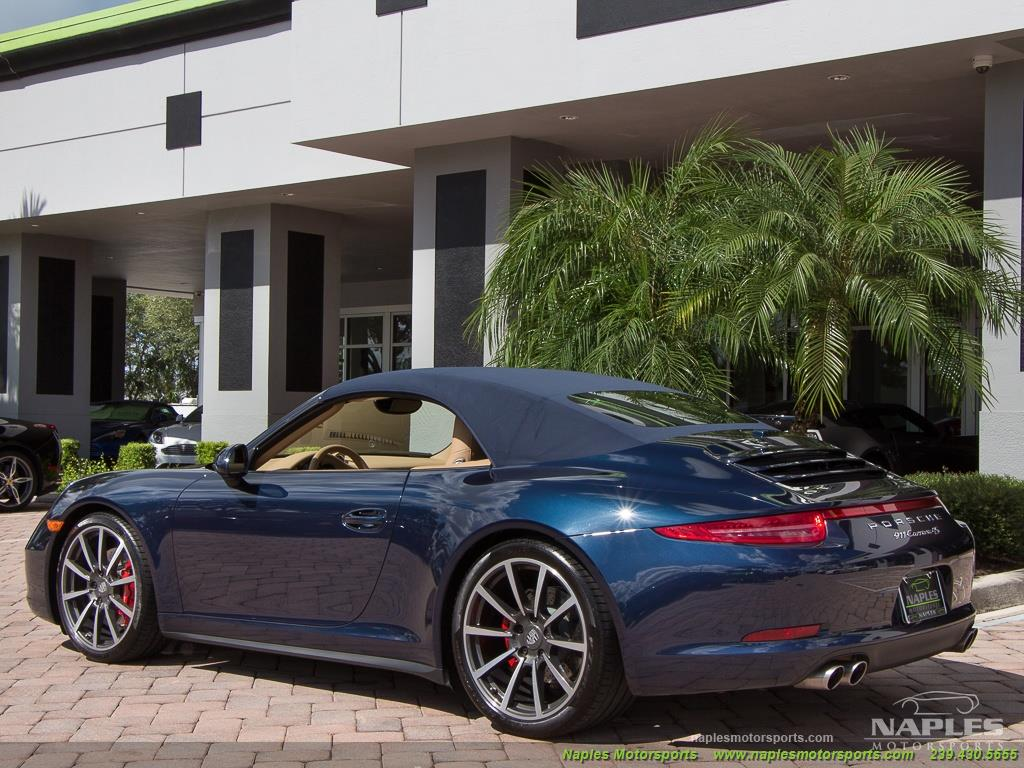 2013 Porsche 911 Carrera 4S Cabriolet - Photo 39 - Naples, FL 34104