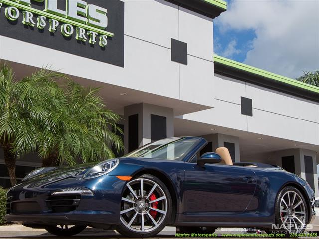 2013 Porsche 911 Carrera 4S Cabriolet - Photo 3 - Naples, FL 34104