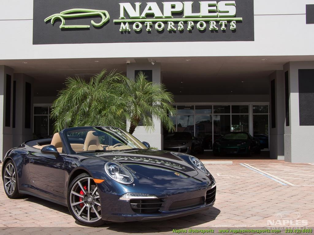 2013 Porsche 911 Carrera 4S Cabriolet - Photo 54 - Naples, FL 34104