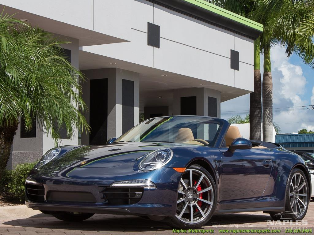 2013 Porsche 911 Carrera 4S Cabriolet - Photo 9 - Naples, FL 34104