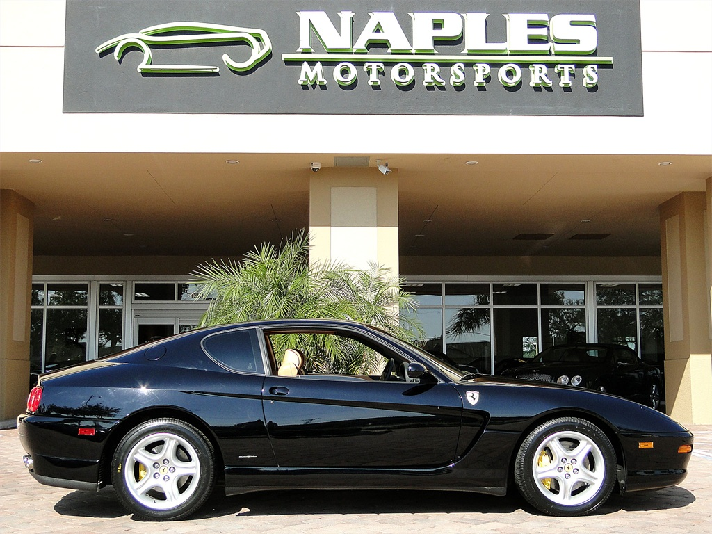 2001 ferrari 456 456m gt for Motor vehicle naples fl