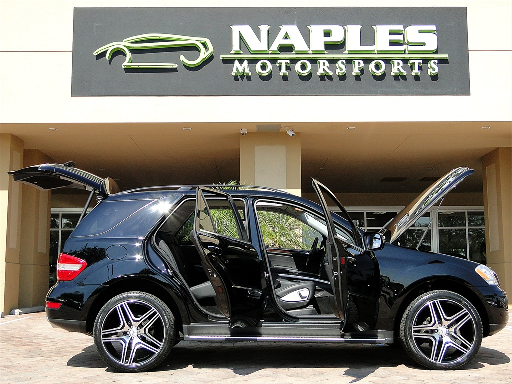 2010 mercedes benz ml350 4matic for Florida department of motor vehicles naples fl