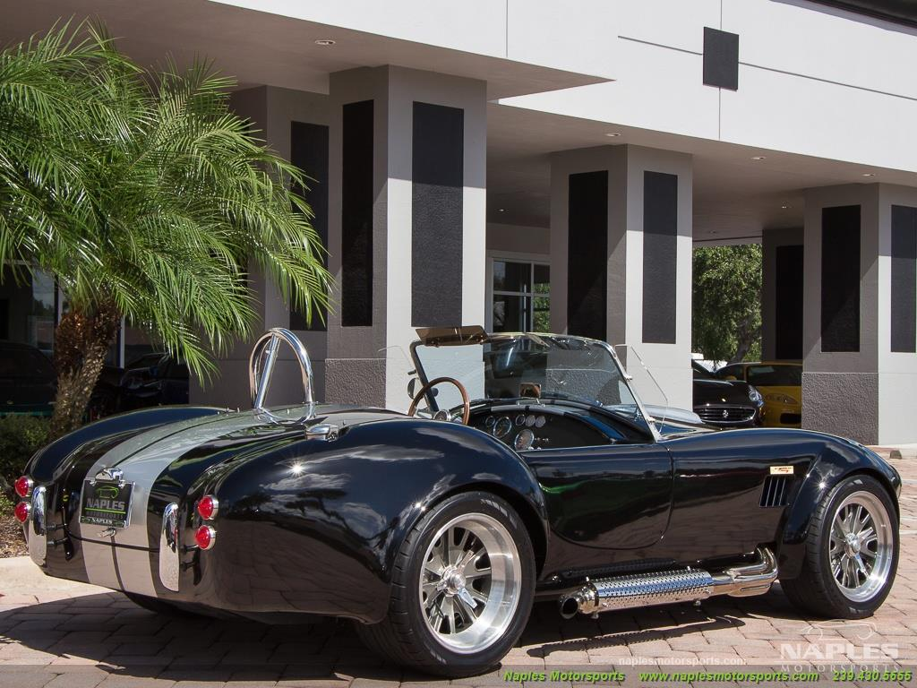 1965 Replica/Kit BackDraft Racing Shelby Cobra Replica - Photo 21 - Naples, FL 34104