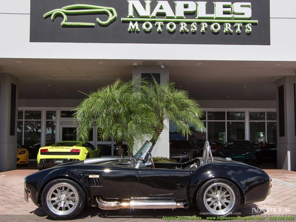 1965 Replica/Kit BackDraft Racing Shelby Cobra Replica - Photo 6 - Naples, FL 34104
