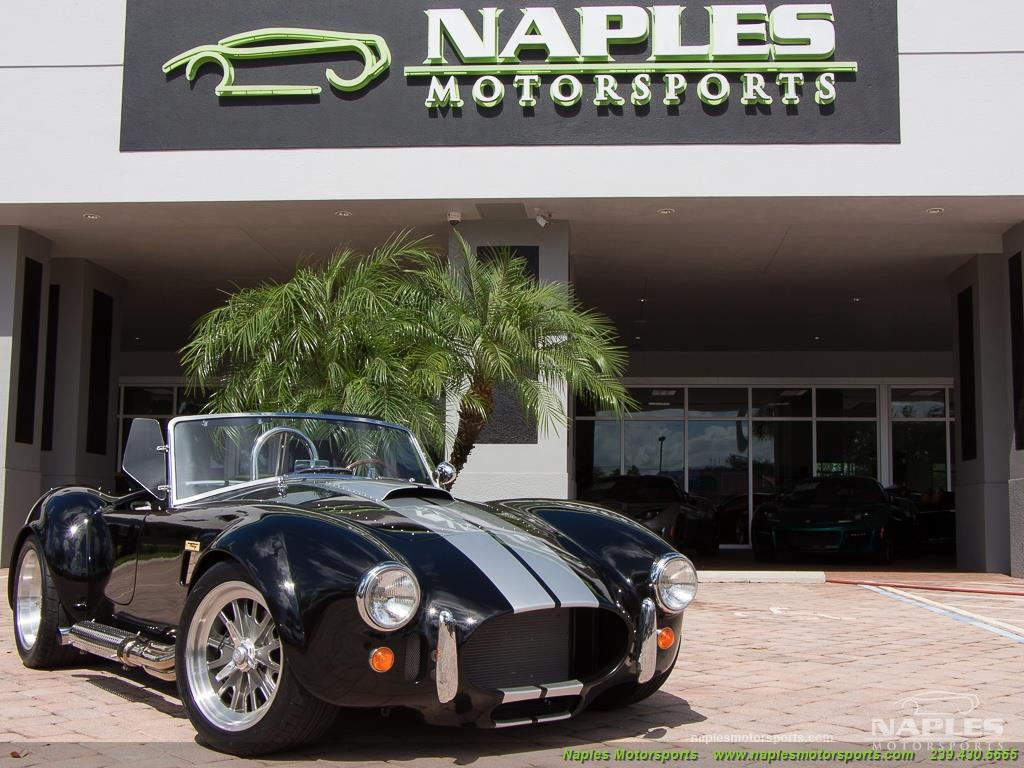 1965 Replica/Kit BackDraft Racing Shelby Cobra Replica - Photo 54 - Naples, FL 34104