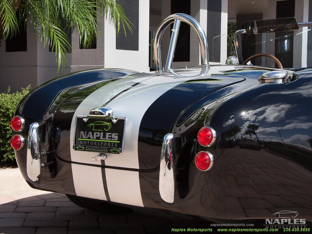 1965 Replica/Kit BackDraft Racing Shelby Cobra Replica - Photo 32 - Naples, FL 34104