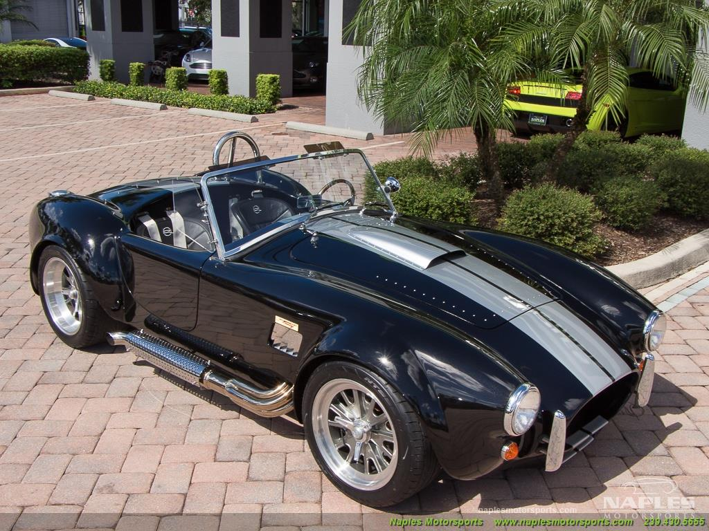 1965 Replica/Kit BackDraft Racing Shelby Cobra Replica - Photo 28 - Naples, FL 34104