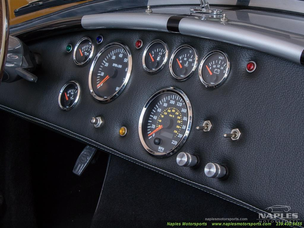 1965 Replica/Kit BackDraft Racing Shelby Cobra Replica - Photo 23 - Naples, FL 34104