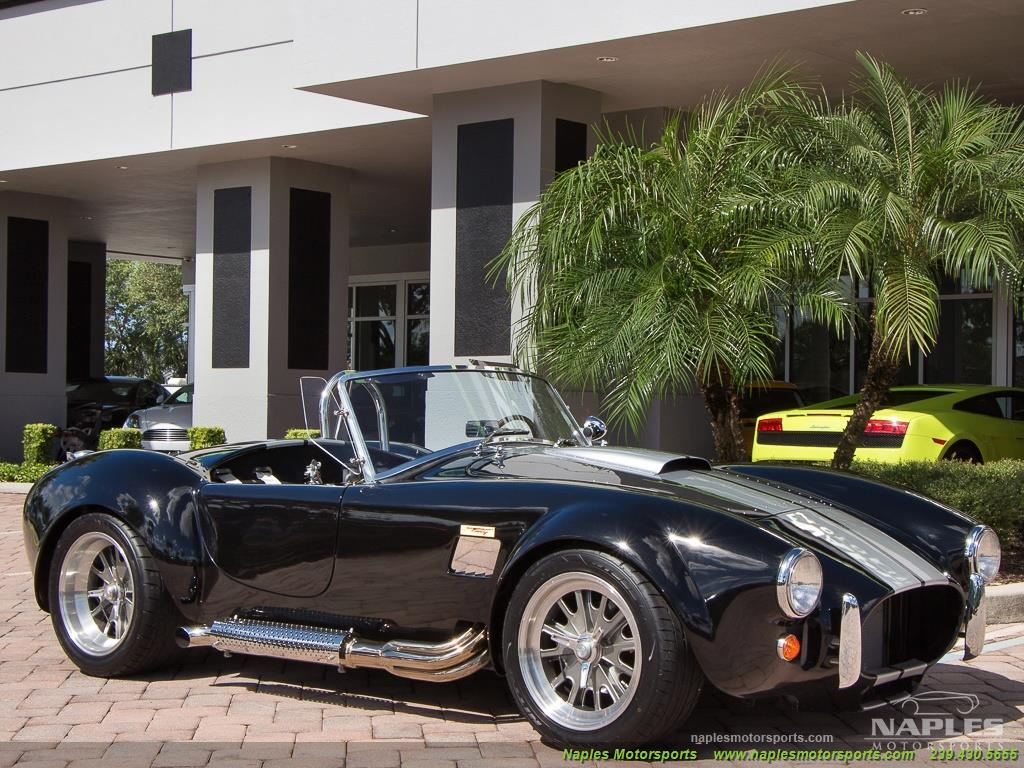 1965 Replica/Kit BackDraft Racing Shelby Cobra Replica - Photo 25 - Naples, FL 34104
