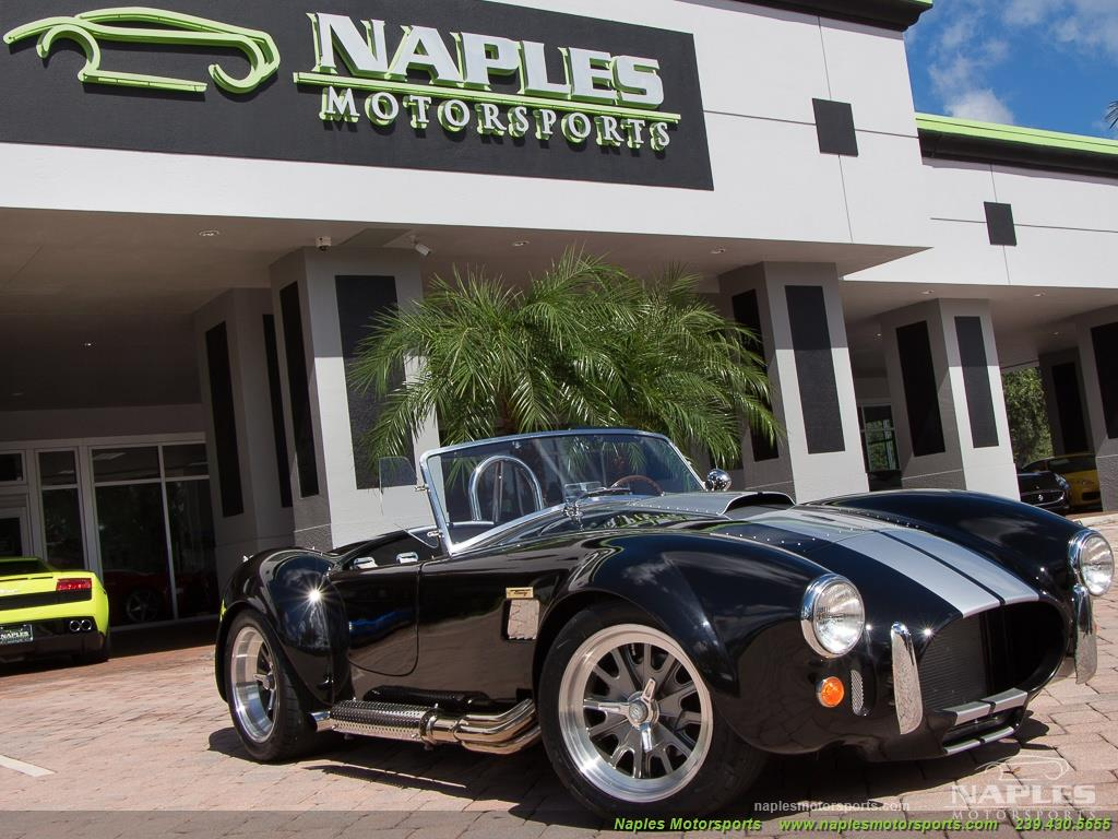 1965 Replica/Kit BackDraft Racing Shelby Cobra Replica - Photo 38 - Naples, FL 34104