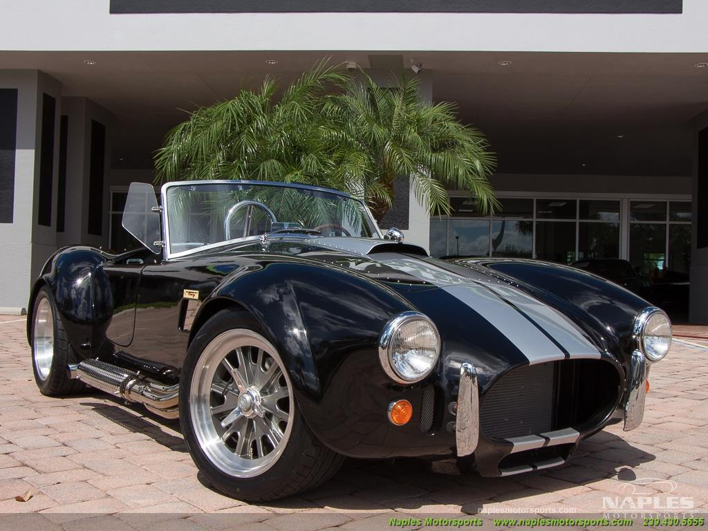 1965 Replica/Kit BackDraft Racing Shelby Cobra Replica - Photo 55 - Naples, FL 34104