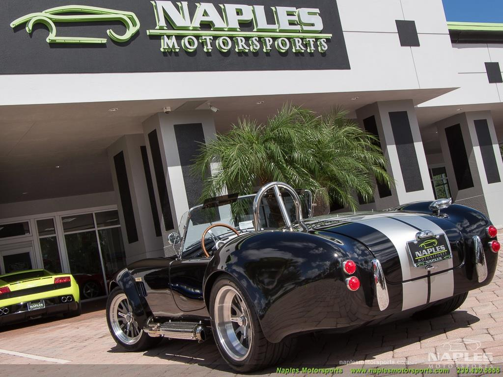1965 Replica/Kit BackDraft Racing Shelby Cobra Replica - Photo 47 - Naples, FL 34104