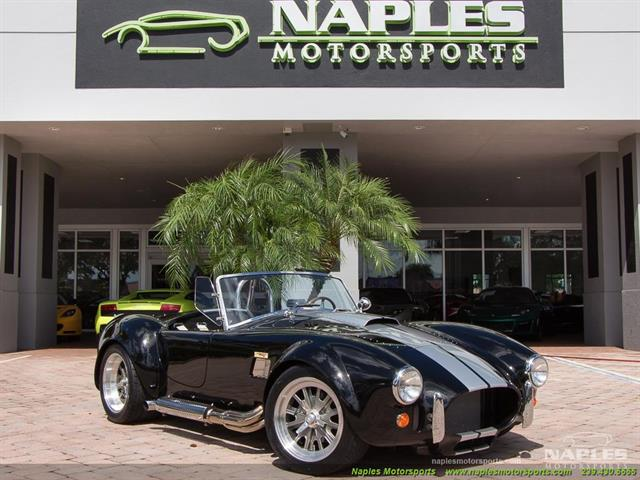 1965 Replica/Kit BackDraft Racing Shelby Cobra Replica - Photo 1 - Naples, FL 34104