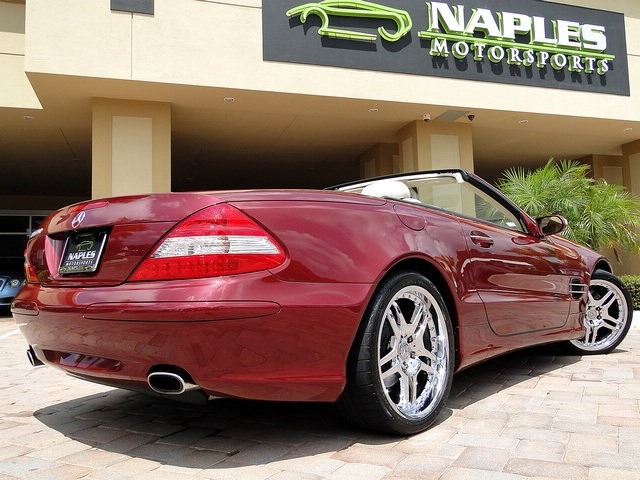 2007 Mercedes-Benz SL550 - Photo 34 - Naples, FL 34104
