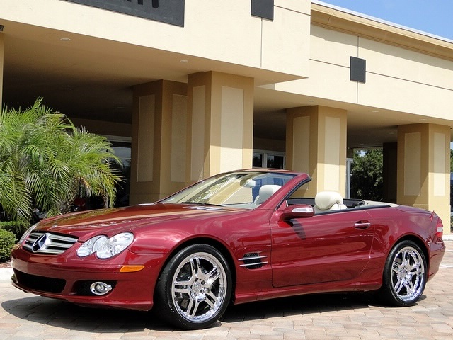 2007 Mercedes-Benz SL550 - Photo 55 - Naples, FL 34104