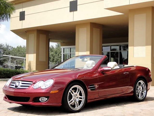 2007 Mercedes-Benz SL550 - Photo 37 - Naples, FL 34104