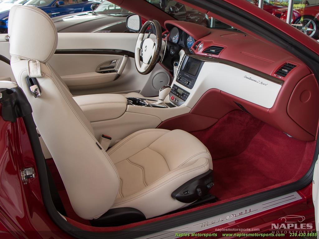 2012 Maserati Gran Turismo Convertible Sport - Photo 18 - Naples, FL 34104