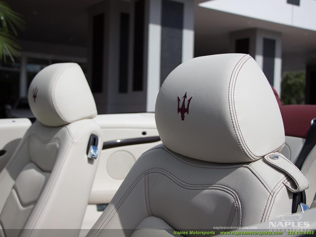 2012 Maserati Gran Turismo Convertible Sport - Photo 30 - Naples, FL 34104