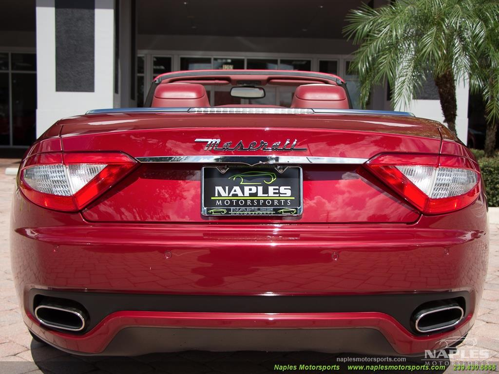 2012 Maserati Gran Turismo Convertible Sport - Photo 48 - Naples, FL 34104