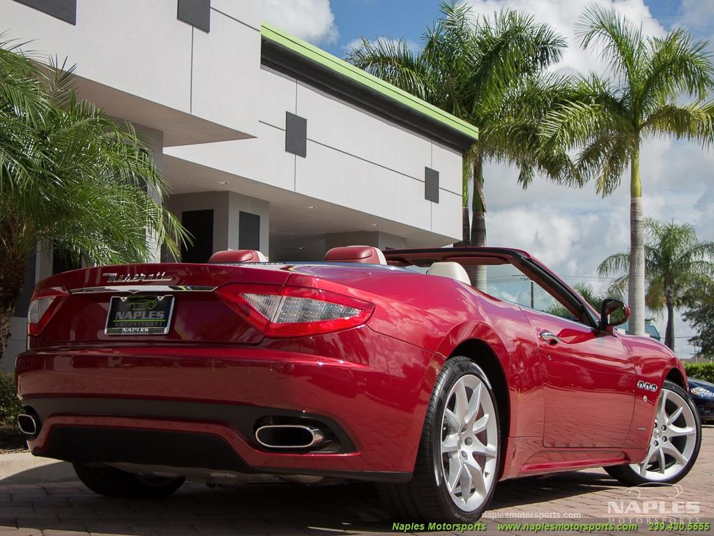 2012 Maserati Gran Turismo Convertible Sport - Photo 40 - Naples, FL 34104