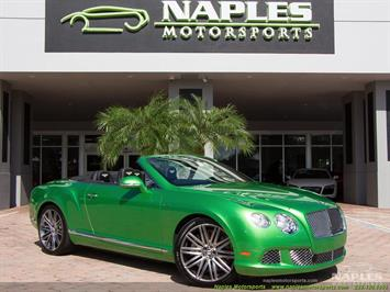 2014 Bentley Continental GT GTC Speed Convertible
