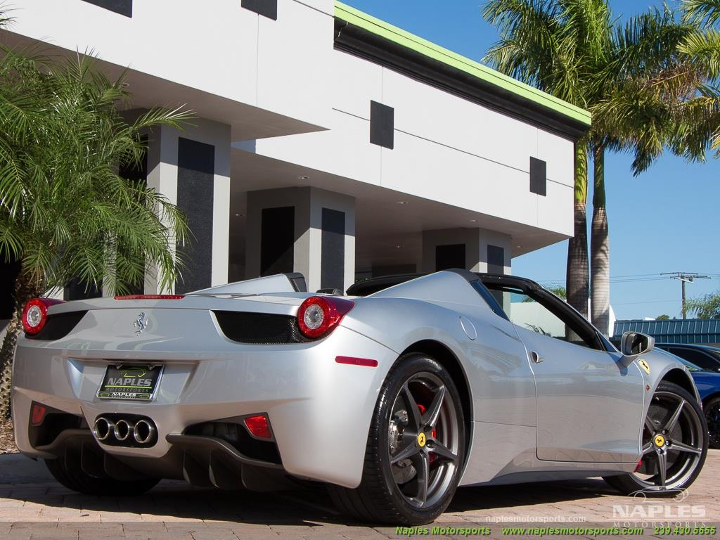 2013 Ferrari 458 Spider - Photo 29 - Naples, FL 34104