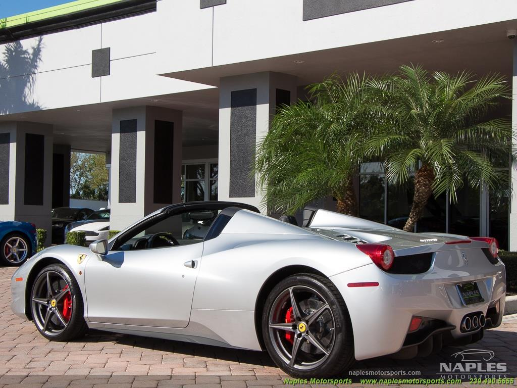 2013 Ferrari 458 Spider - Photo 13 - Naples, FL 34104
