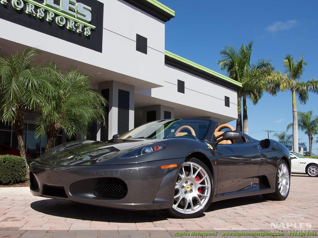 2007 Ferrari F430 Spider F1 Power Daytona Seats Amazing
