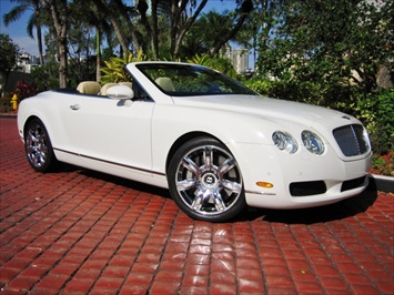 2007 Bentley Continental GTC Convertible Convertible