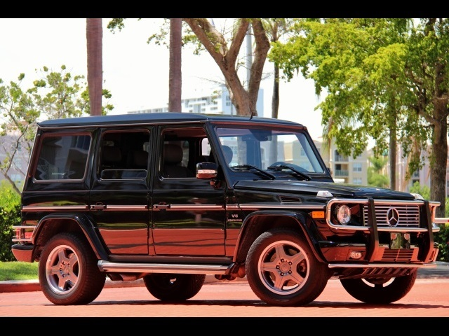 2008 mercedes benz g55 amg for sale in miami fl stock for Mercedes benz suv 2008 for sale