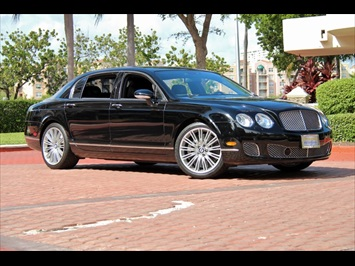 2009 Bentley Continental Flying Spur Speed Sedan