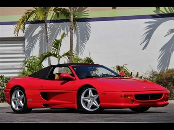 1995 Ferrari F355 Spider 6 Speed Manual Transmission Convertible