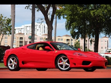 2001 Ferrari 360 Modena 6 Speed Manual Coupe
