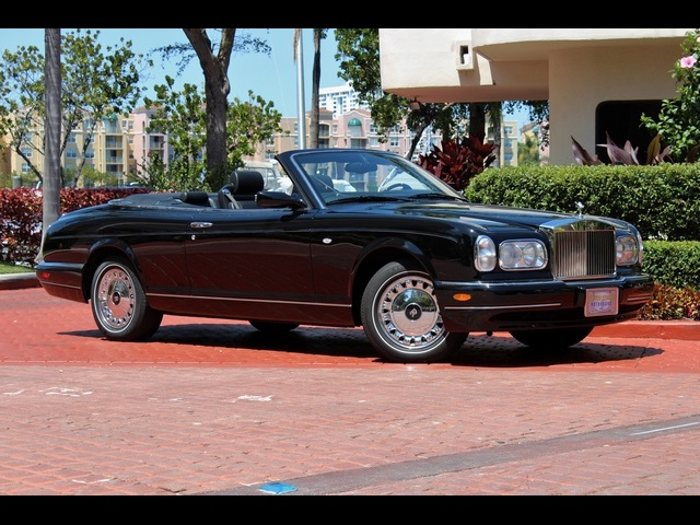 2001 rolls royce corniche for sale in miami fl stock 10287. Black Bedroom Furniture Sets. Home Design Ideas