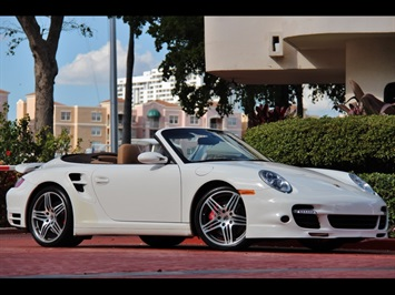 2008 Porsche 911 Turbo Tiptronic Cabriolet Convertible