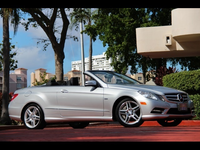 2012 mercedes benz e550 convertible for sale in miami fl stock 14484. Black Bedroom Furniture Sets. Home Design Ideas
