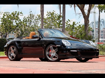 2009 Porsche 911 Turbo Cabriolet Tiptronic Convertible
