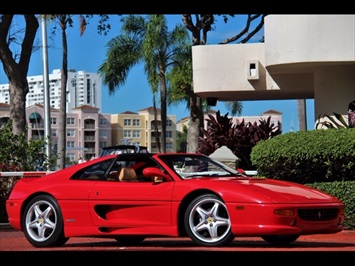 1998 Ferrari F355 GTS 6 Speed Manual Transmission Targa Coupe