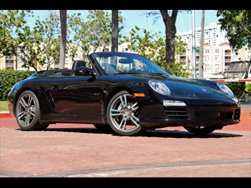 2012 Porsche 911 Carrera Cabriolet Black Edition Convertible