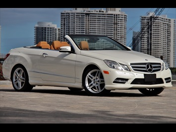 2013 Mercedes-Benz E550 Convertible